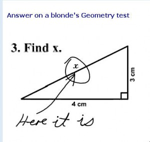 geometry test answer